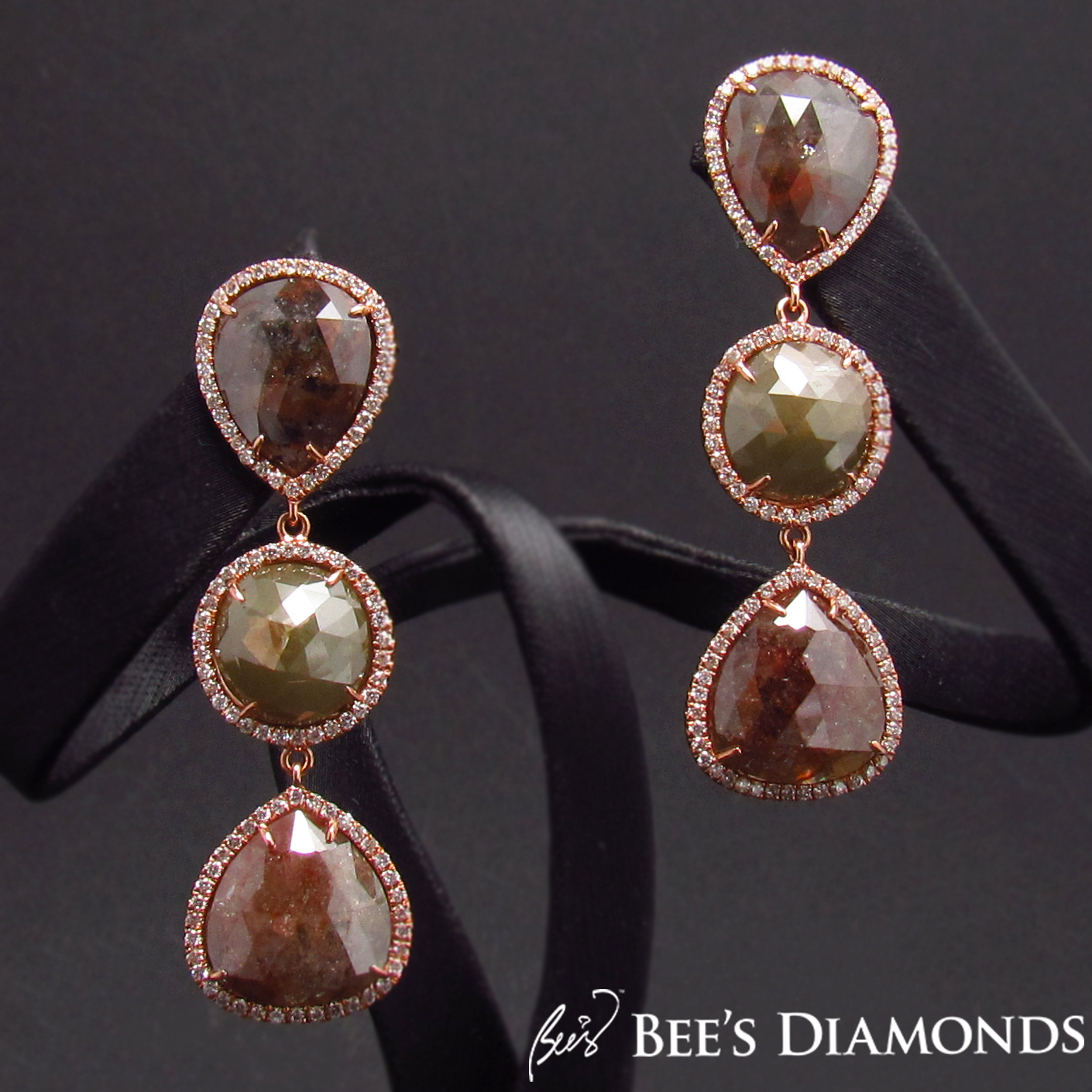 Autumn colours jewellery, diamond domes, Fall colours | Bee's Diamonds