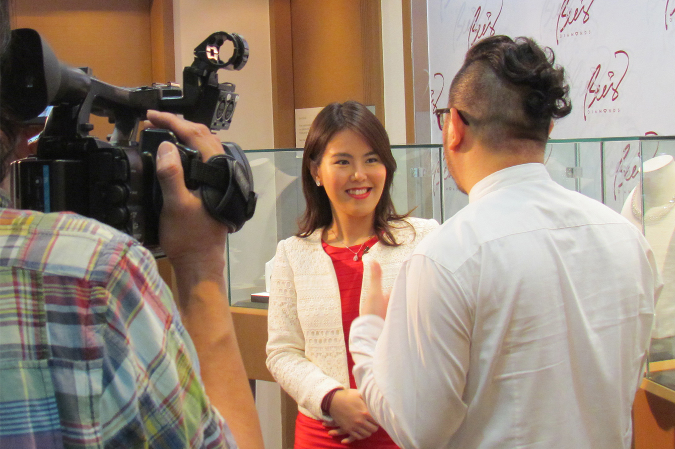 Bee's Diamonds - TV and media interview on diamond valuation and market trends