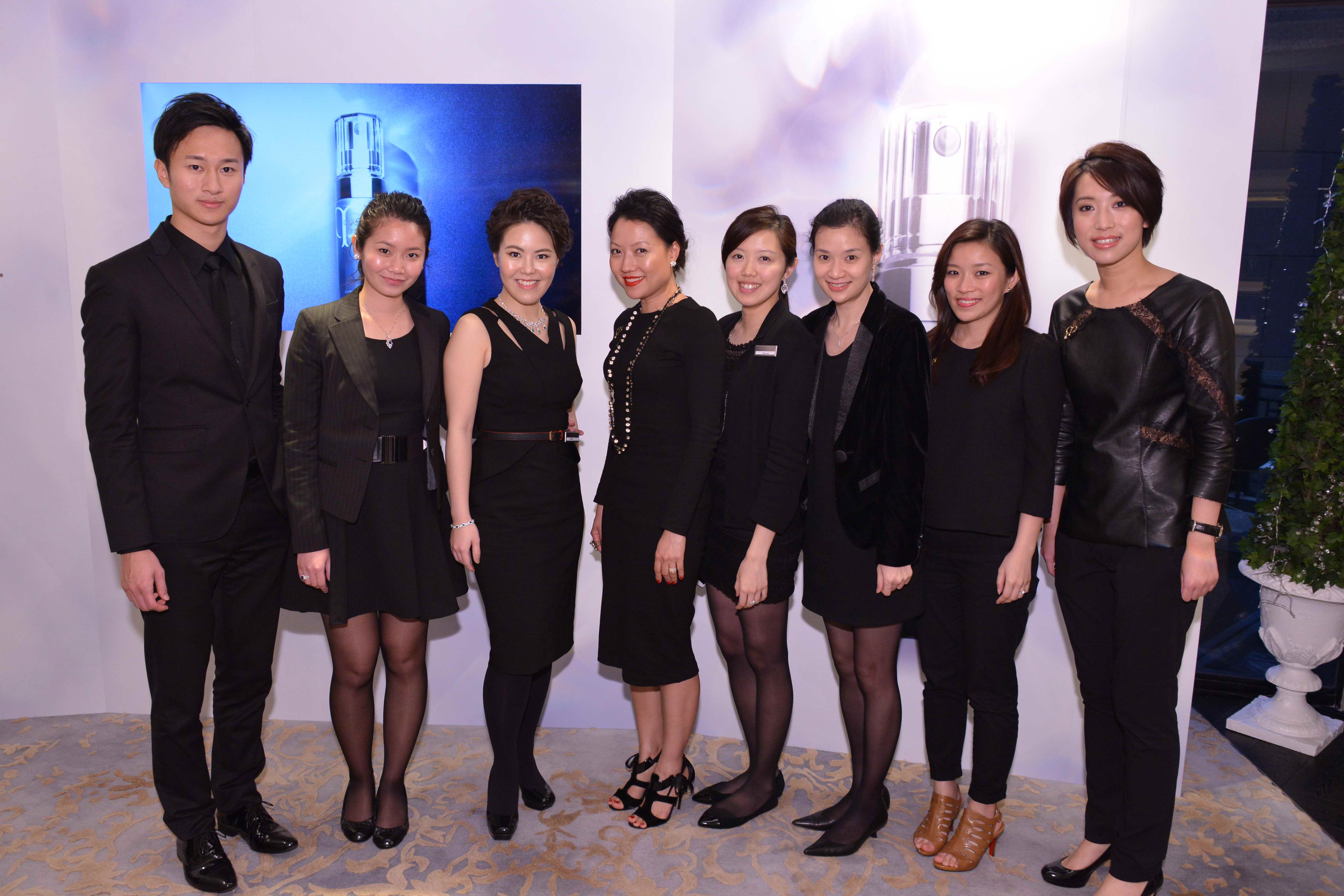 Bee's Diamonds - Diamond appreciation workshop at Cle de Peau Beaute product launch