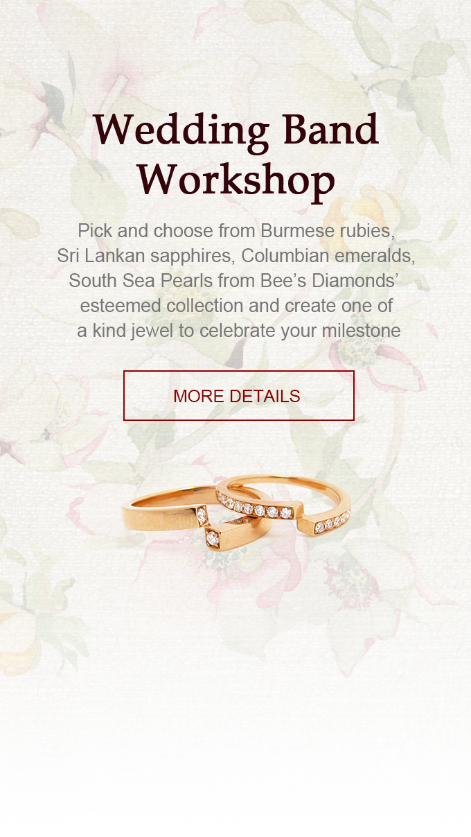 Bee's Diamonds | Wedding Bands Workshop