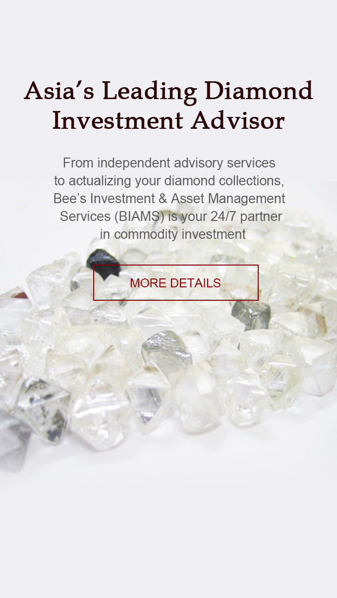 Asia's Leading Diamond  Investment Advisor  | Bee's Diamonds