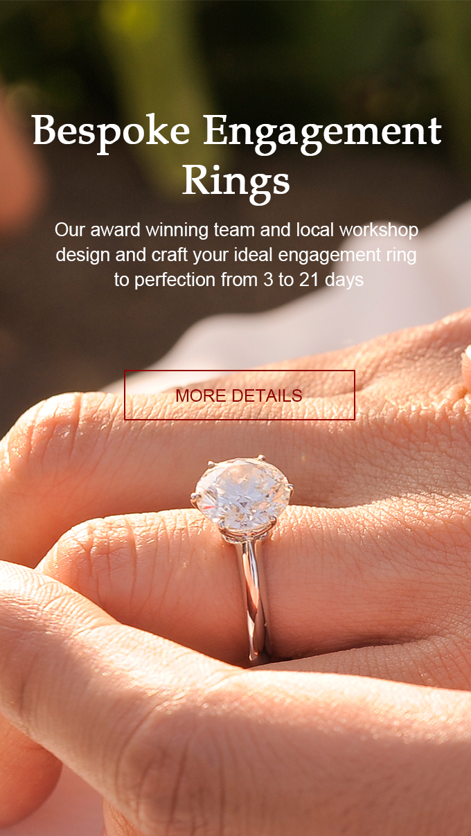 Custom Engagement Rings | Bee's Diamonds Hong Kong